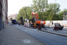 [Kraków] Ulica Grzegórzecka (remont)