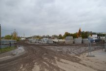 Budowa ul. Czerniakowskiej Bis