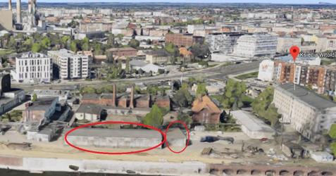 Rozbiórka budynków magazynowych i produkcyjnych, ul. Witolda 56, 74 i 76 366526