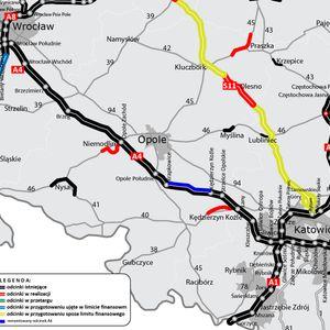 Remont autostrady A4 (Krapkowice - Kędzierzyn-Koźle) 486334