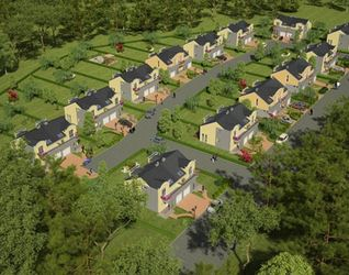 """[Poniatowice] Osiedle domów jednorodzinnych """"Poniatowice Park"""" 27585"""
