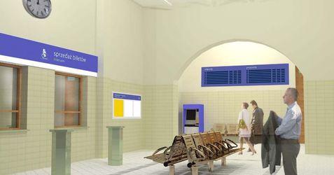 [Kluczbork] Dworzec PKP (remont) 43716