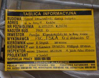 [Kraków] Remont Kamienicy, ul. Św. Anny 11 447172
