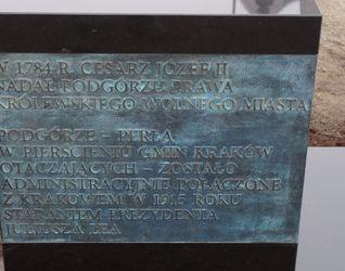 [Kraków] Pomnik Juliusza Lea 370196