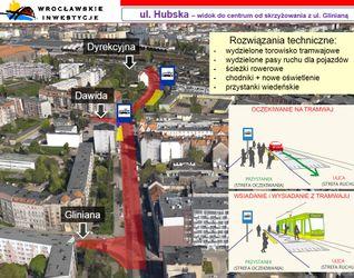 [Wrocław] Trasa tramwajowa wzdłuż ulicy Hubskiej 406989