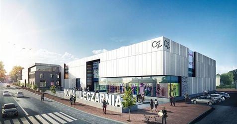 """[Sochaczew] Centrum Zakupów """"Nowa Mleczarnia"""" 45773"""