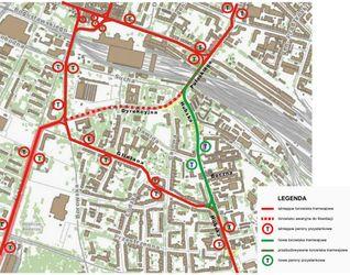 [Wrocław] Trasa tramwajowa wzdłuż ulicy Hubskiej 406990