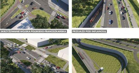 Przebudowa trasy Wojska Polskiego 421071