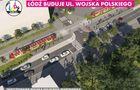 Przebudowa trasy Wojska Polskiego