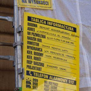 [Kraków] Remont Kamienicy, ul. Karmelicka 50 491216