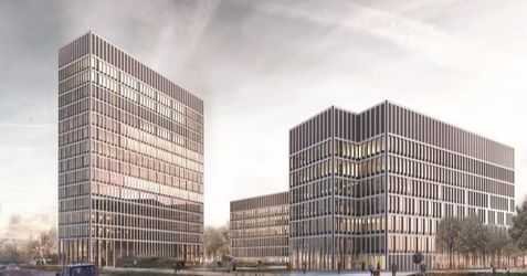 "[Katowice] Kompleks biurowy ""Face2Face Business Campus"" 351442"