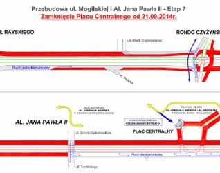 [Kraków] Przebudowa trasy Rondo Mogilskie - Pl. Centralny oraz skrzyżowanie z ul. Lema 125139