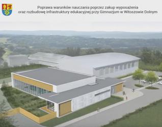 [Witoszów Dolny] Rozbudowa kompleksu sportowego o kryty basen i boisko 299733