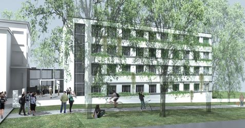 """[Poznań] Kolegium """"Zembala"""" (Uniwersytet Przyrodniczy) (rozbudowa) 318421"""