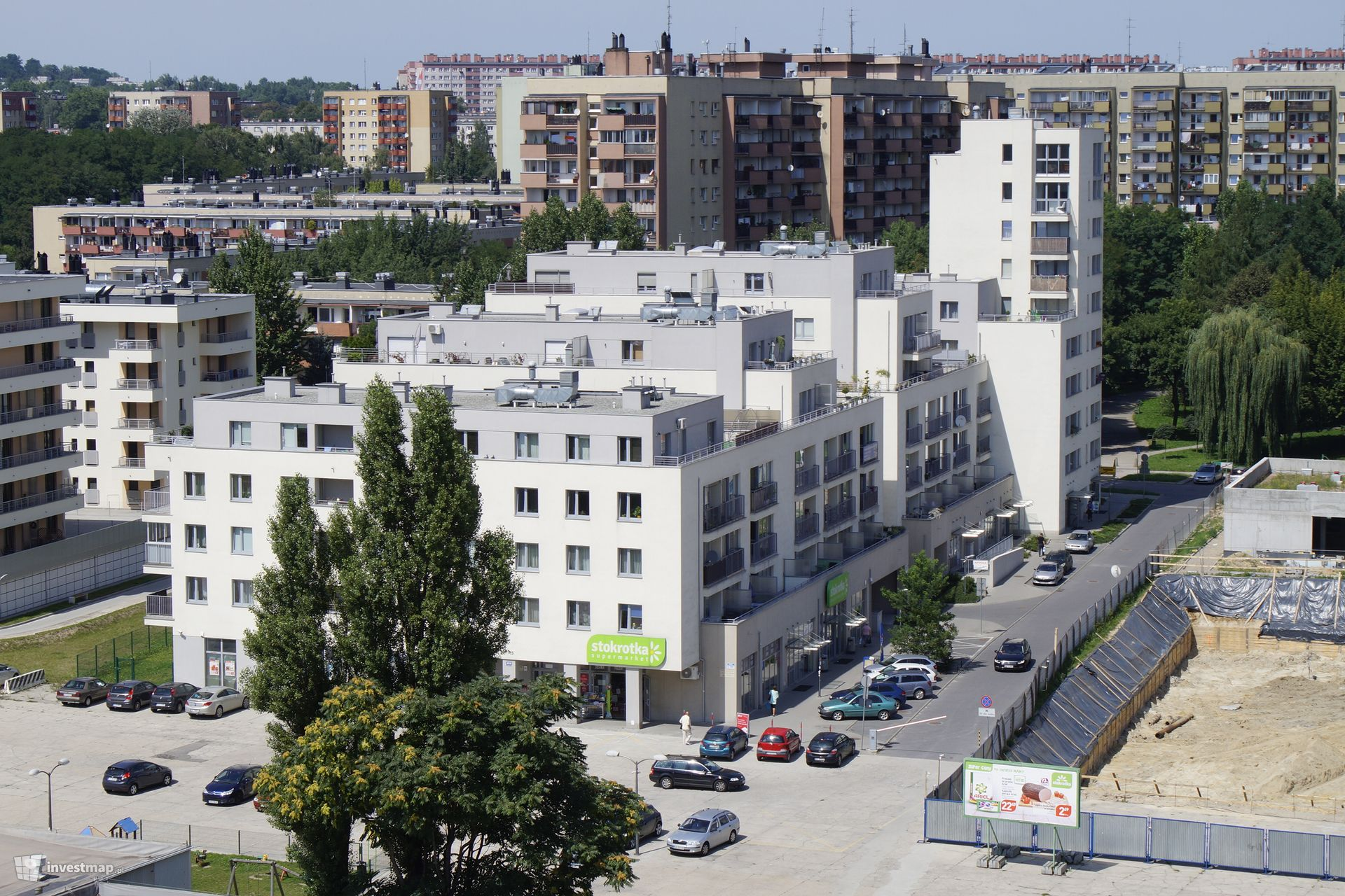 Budynki wielorodzinne, ul. Hynka