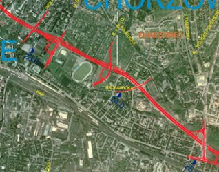 Drogowa Trasa Średnicowa odcinek Katowice-Chorzów-Zabrze-Gliwice 34522