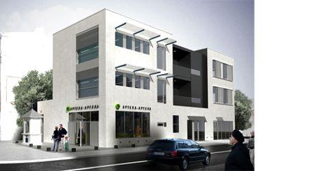 [Lublin] Budynek biurowy z usługami, ul. Plażowa 46042
