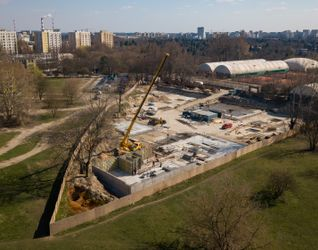 Budynek klubowy przy KS Warszawianka 470746