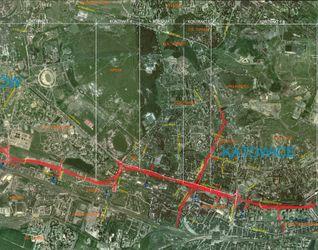 Drogowa Trasa Średnicowa odcinek Katowice-Chorzów-Zabrze-Gliwice 34523