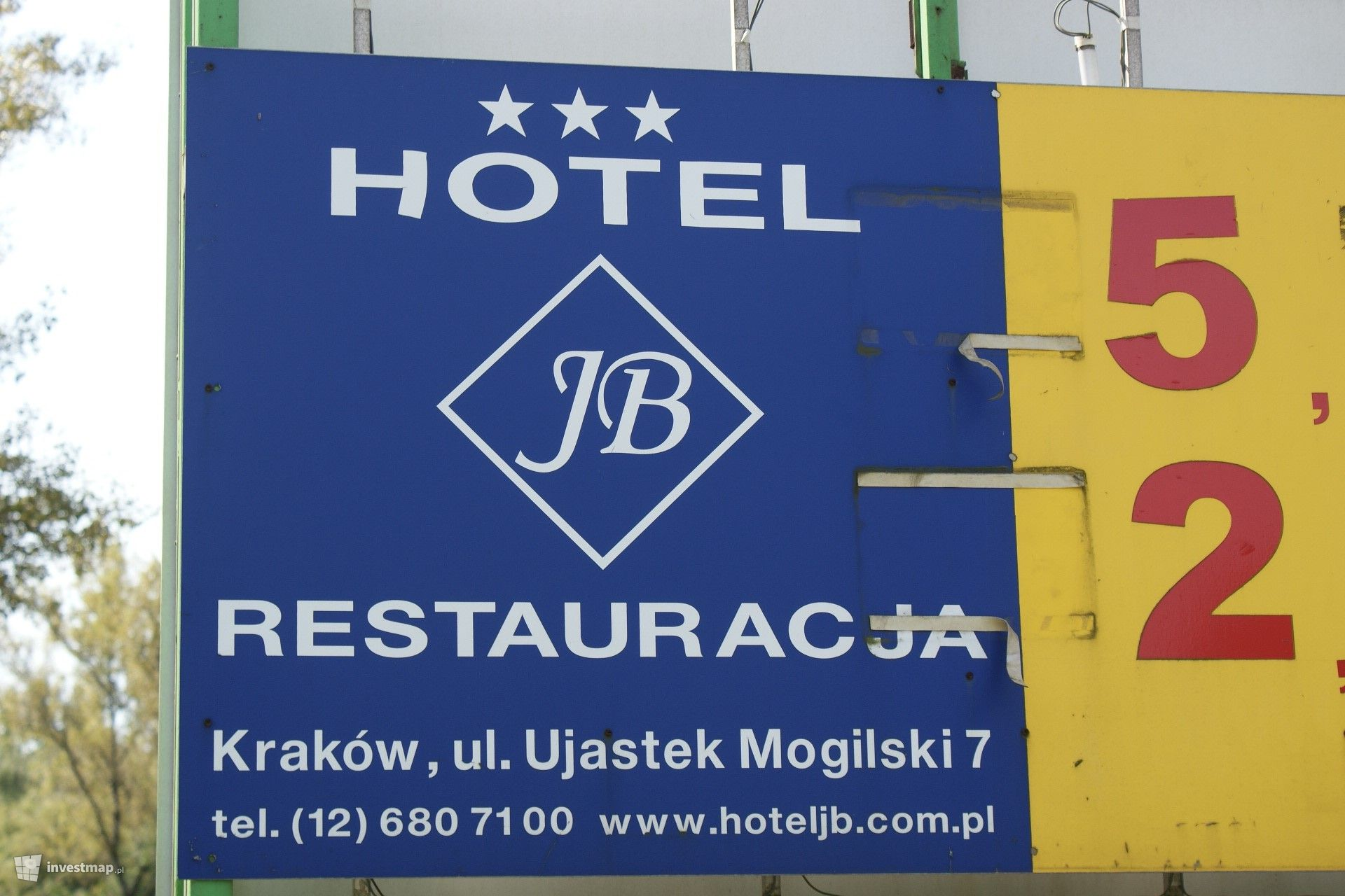 Hotel JB ul. Ujastek Mogilski (Remont)