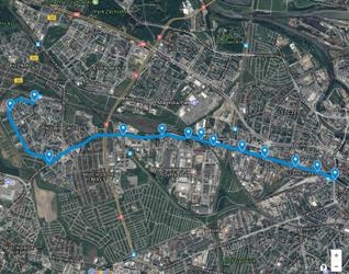 Trasa autobusowo-tramwajowa na Nowy Dwór 378333
