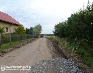 Droga z Nowej Wsi Goszczańskiej w kierunku Świniar 466141