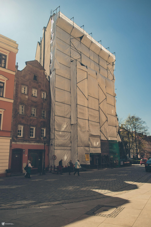 Remont i przebudowa budynku mieszkalnego przy placu Uniwersyteckim 7