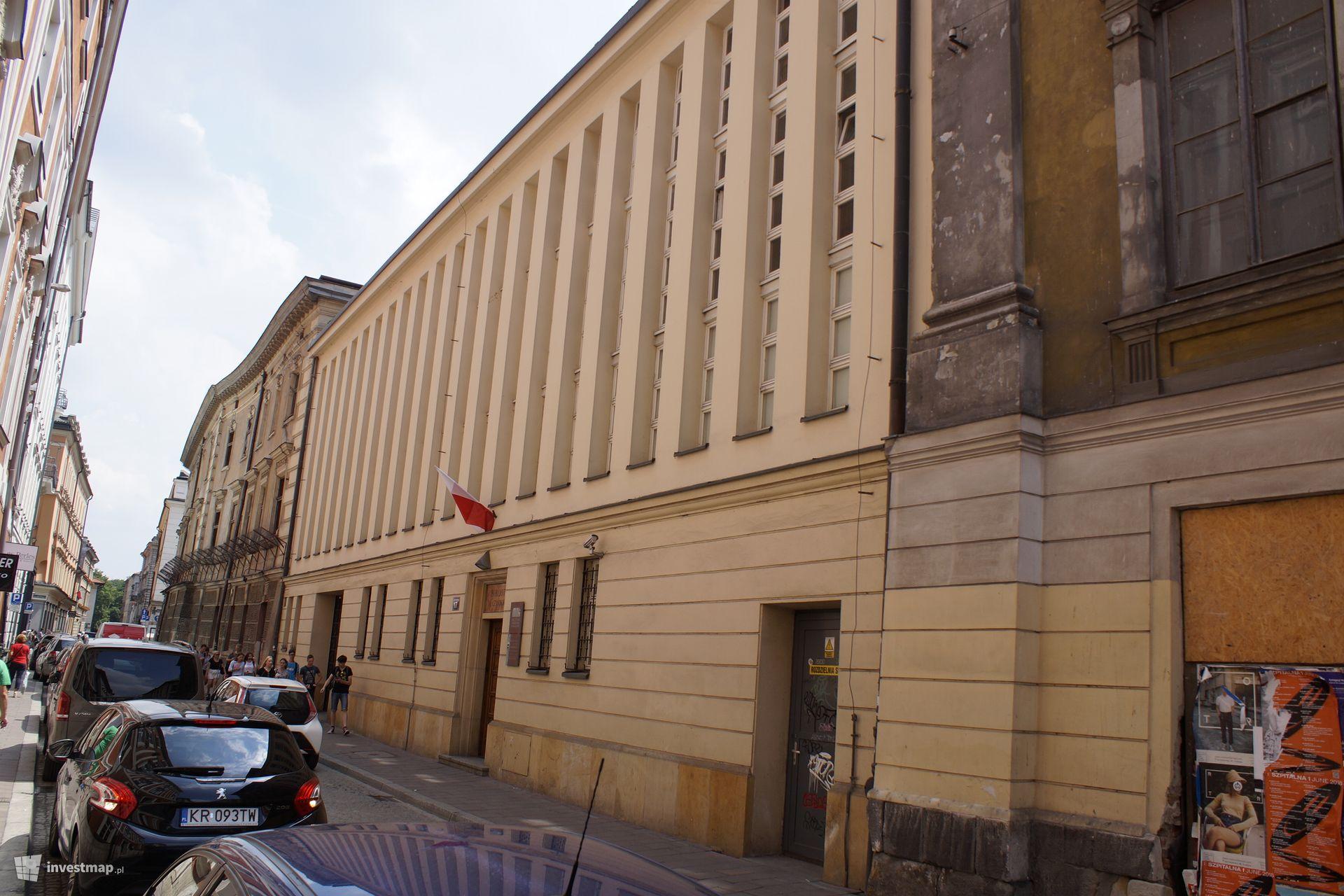 Biblioteka XX. Czartoryskich, ul. Św. Marka 17