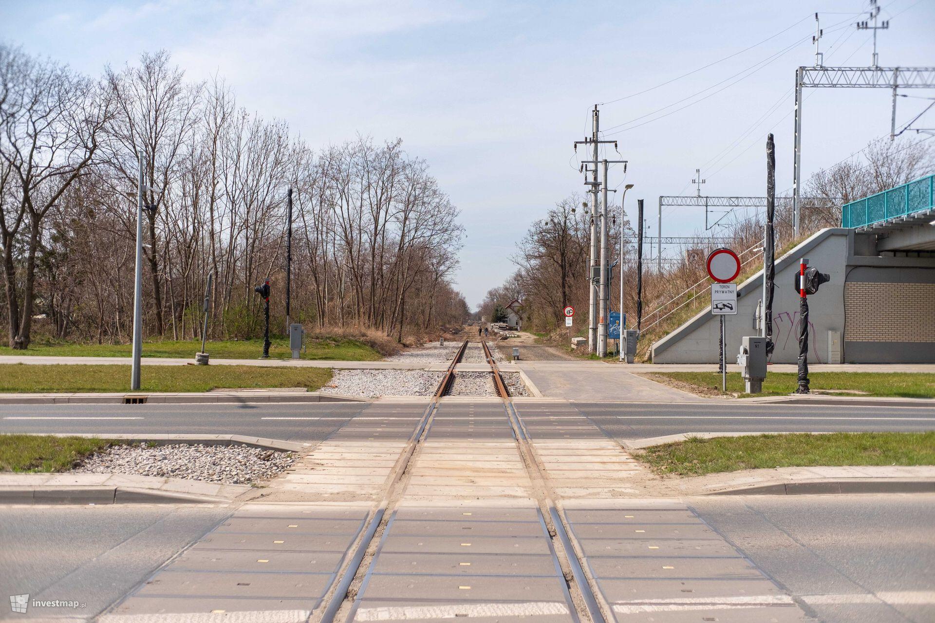 Trasa tramwajowa na Jagodno
