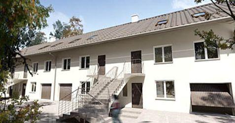 [Lublin] Zespół 4 budynków w zabudowie szeregowej, ul. Dąbrówki 4-10 56289