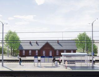 Stacja kolejowa w Pabianicach 487651