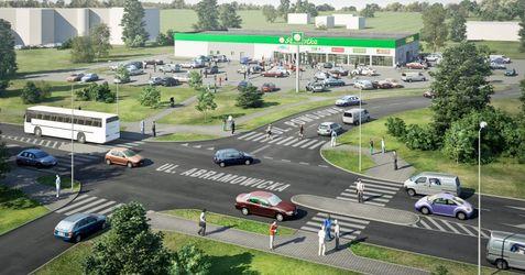 [Lublin] Budynek usługowo-handlowy, ul. Abramowicka/Powojowa 45540