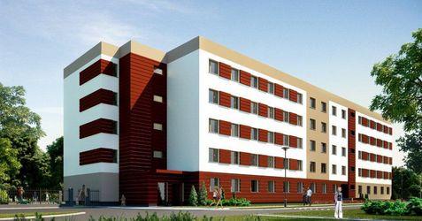 """[Legnica] Budynek mieszkalny """"QUADROOM"""", ul. Jasińskiego 5350"""
