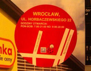 [Wrocław] Biedronka, ul. Orlińskiego/Horbaczewskiego 41703