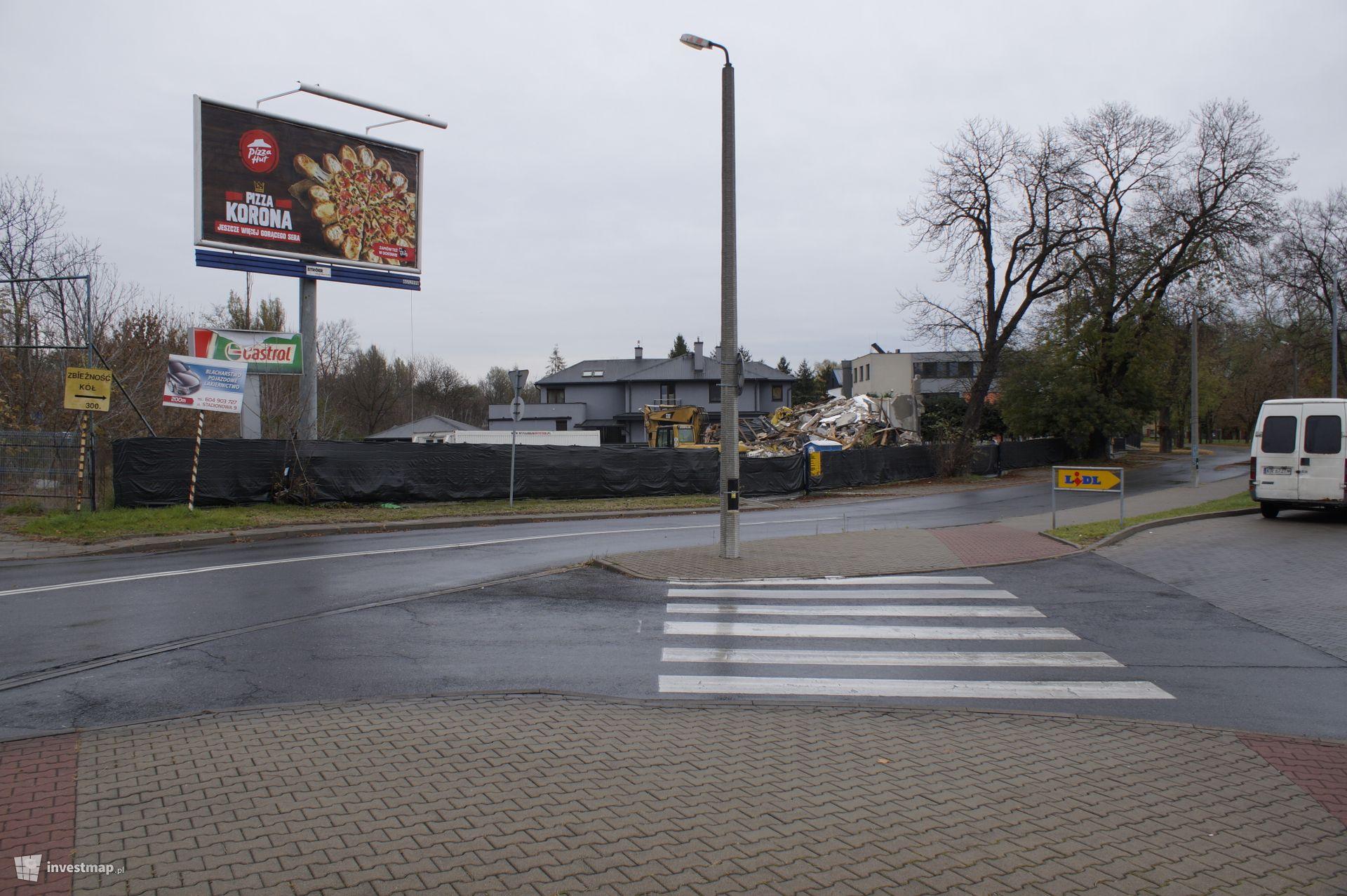 Budynek Handlowo - Usługowy, ul. Stadionowa