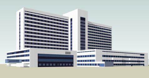 [Kraków] Szpital Rydygiera (rozbudowa) 486129