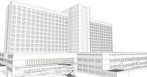 [Kraków] Szpital Rydygiera (rozbudowa) 486130