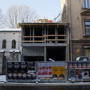[Kraków] Budynek Mieszkalny, ul. Warszauera 10 406771