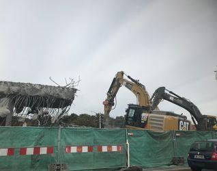 [Wrocław] Wyburzenie Estakady na Placu Społecznym 439283