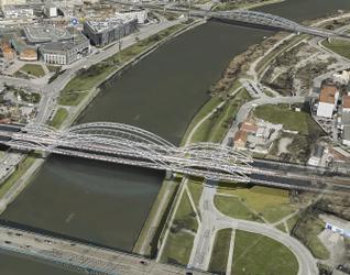 [Kraków] Mosty kolejowe przez Wisłę 388341