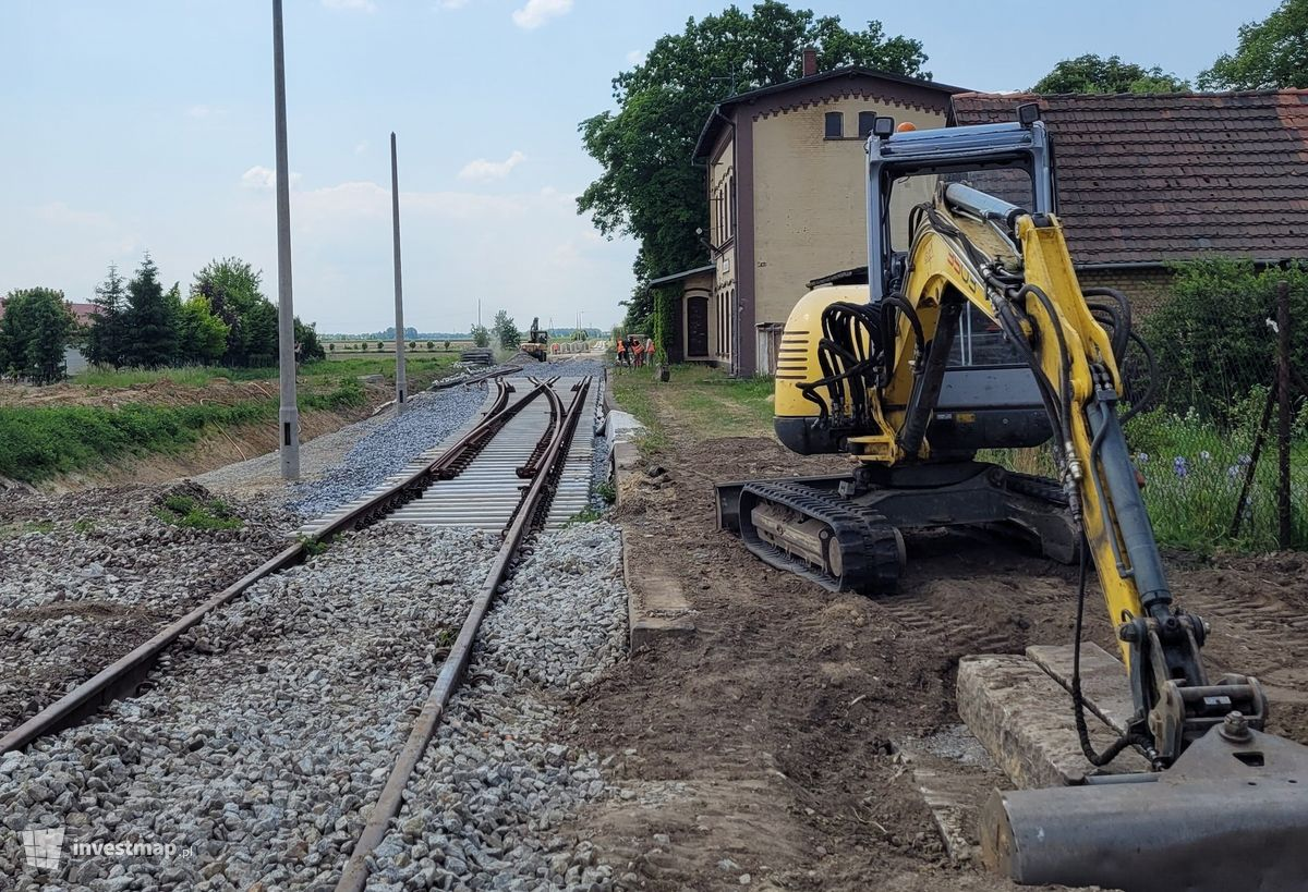 Zdjęcie Przebudowa linii kolejowej nr 285 na odcinku Wrocław Główny – Świdnica Przedmieście fot. Paweł Harom