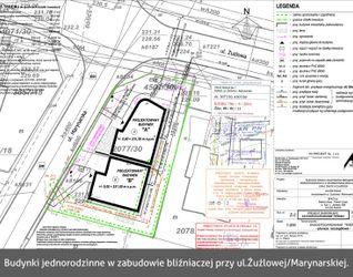 [Rybnik] Budynki jednorodzinne w zabudowie bliźniaczej, ul. Żużlowa/Marynarska 36086