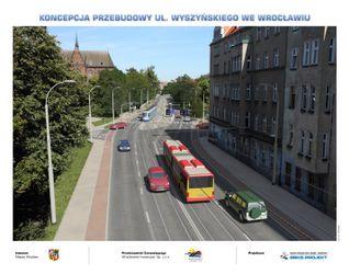 [Wrocław] Przebudowa ul. Wyszyńskiego 52470