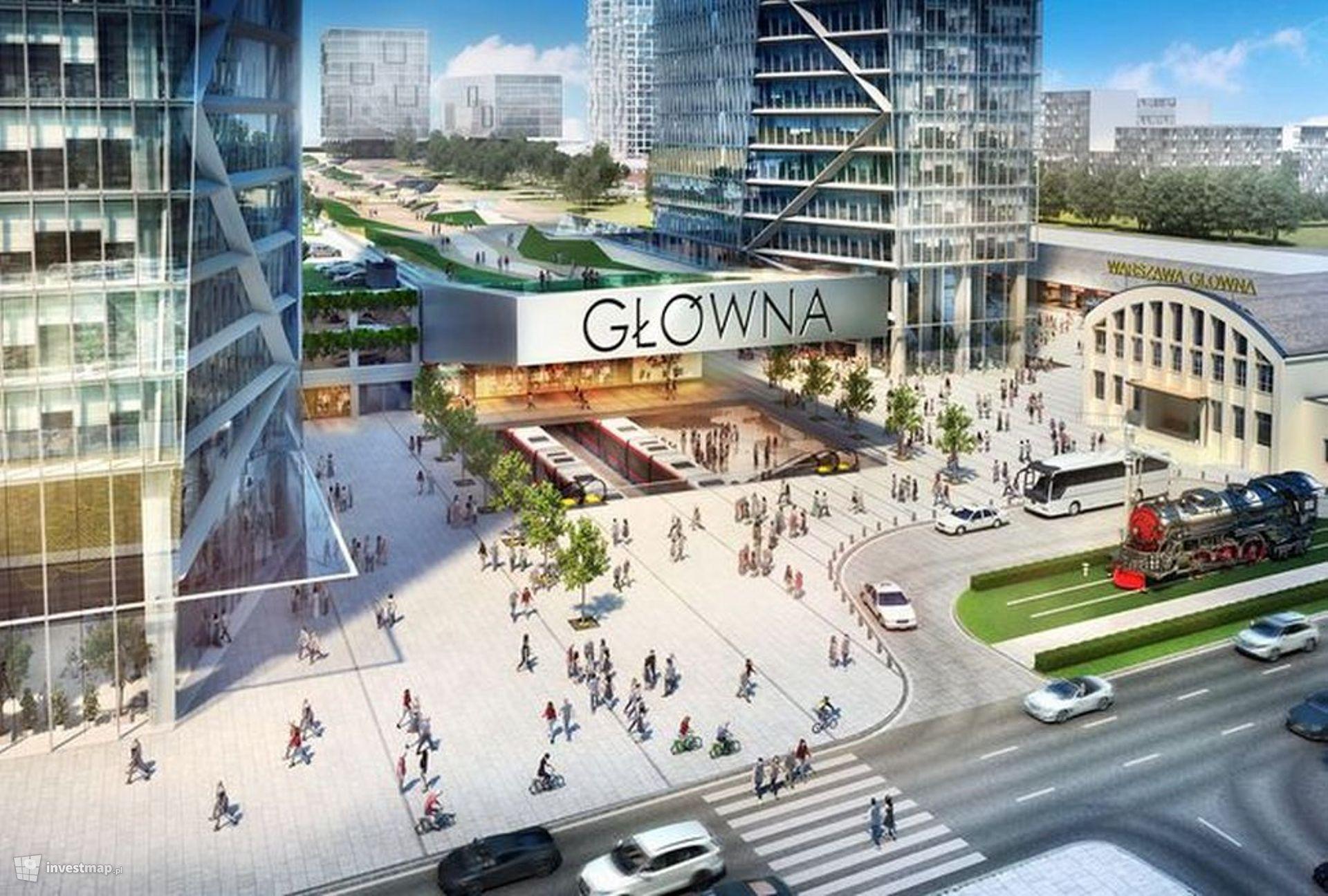 Dworzec Warszawa Główna (zagospodarowanie terenu)