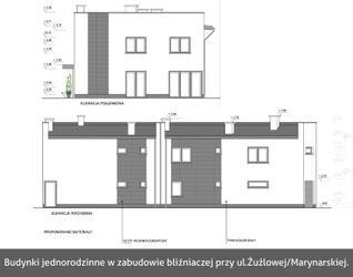 [Rybnik] Budynki jednorodzinne w zabudowie bliźniaczej, ul. Żużlowa/Marynarska 36087