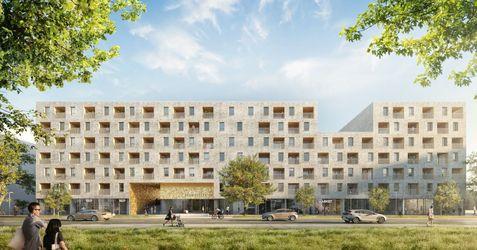 """[Wrocław] Budynek wielorodzinny """"Braniborska 44"""" 371703"""