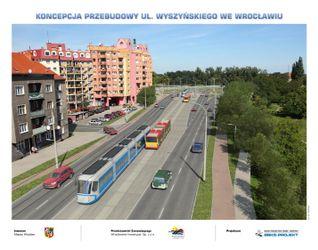 [Wrocław] Przebudowa ul. Wyszyńskiego 52472