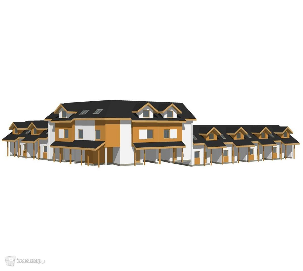 Wizualizacja Osiedle domów jednorodzinnych, ul. Kaskadowa dodał arleta