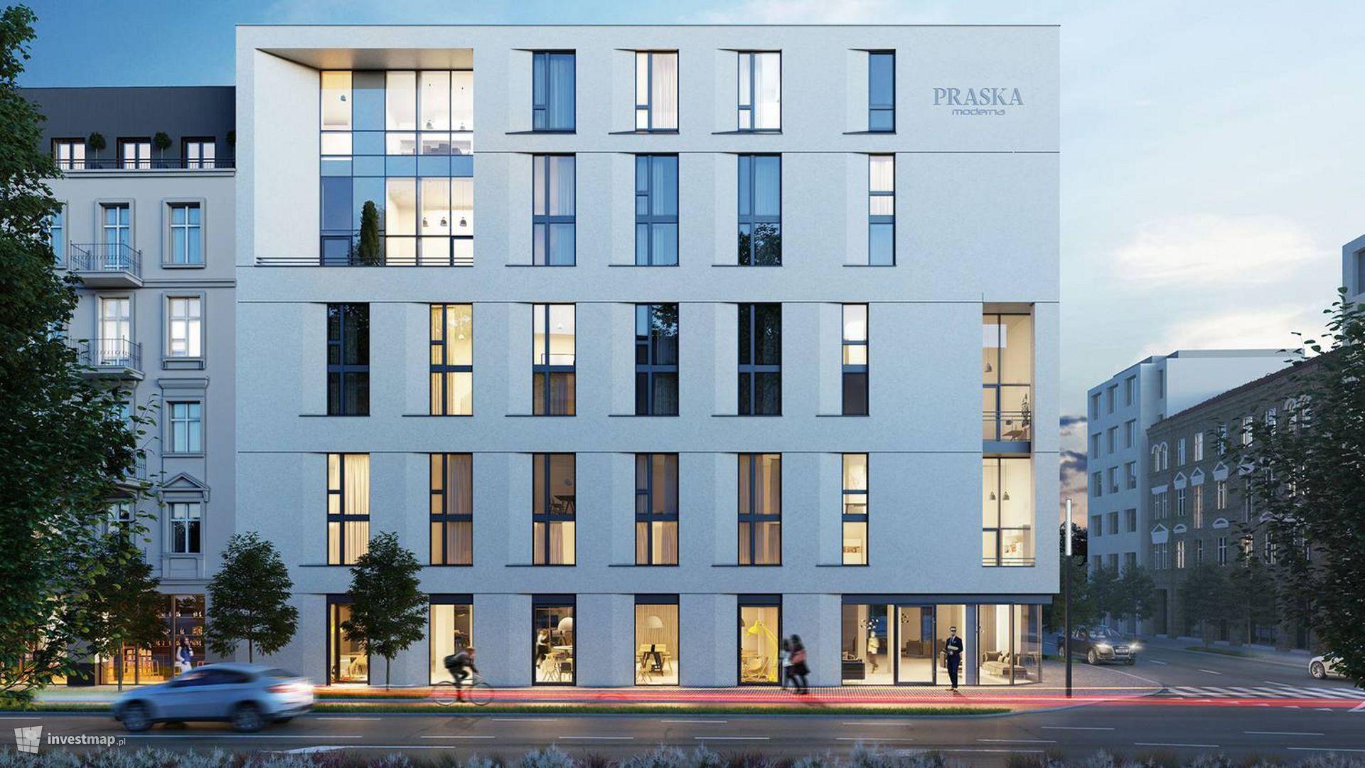 Apartamentowiec Praska Moderna