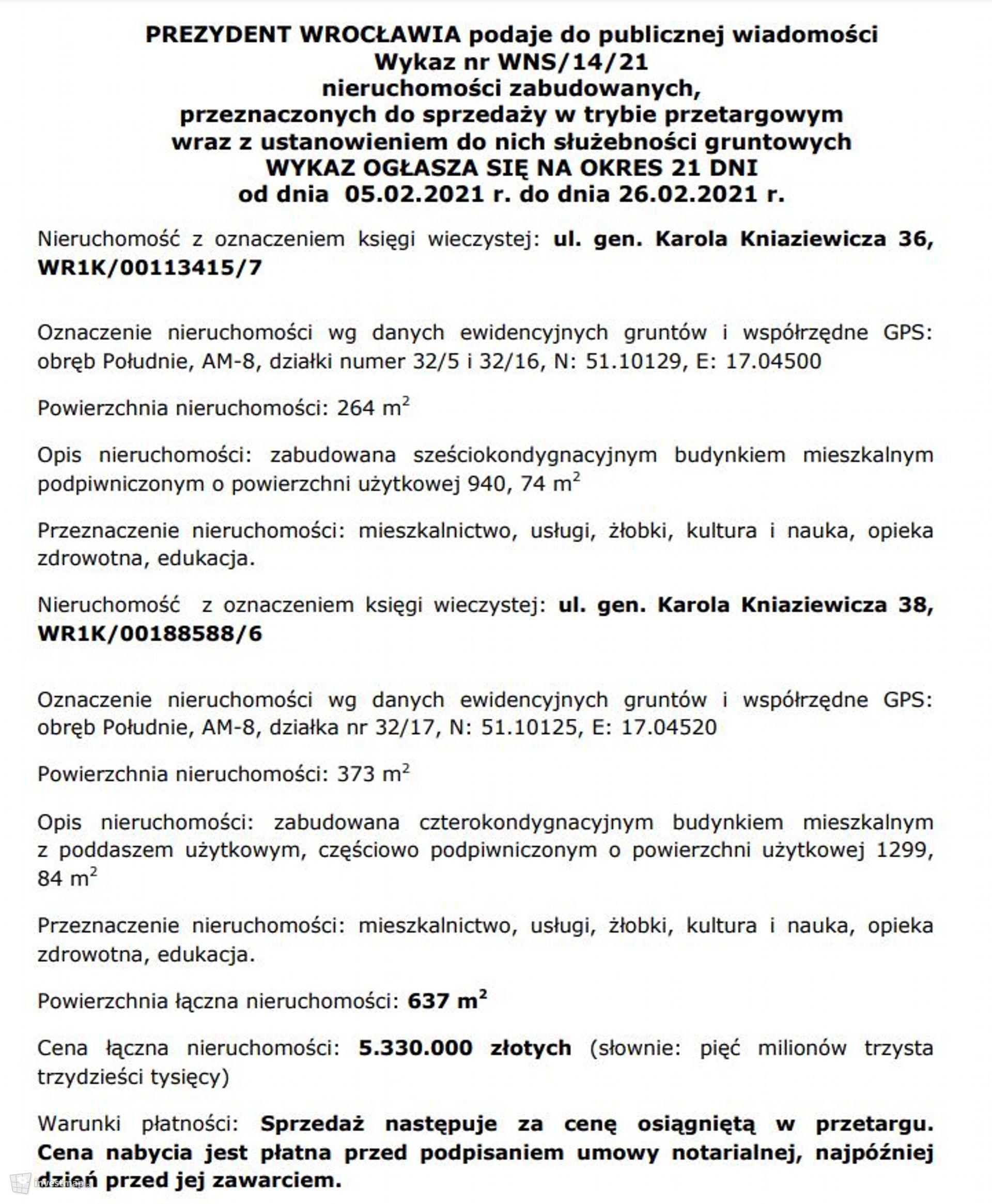 Kniaziewicza 36/38